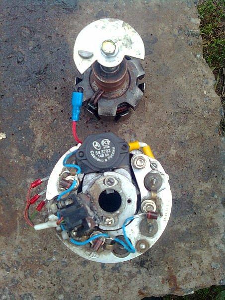 реле регулятор от ваз 2106 на иж юпитер 5 - Практическая схемотехника.